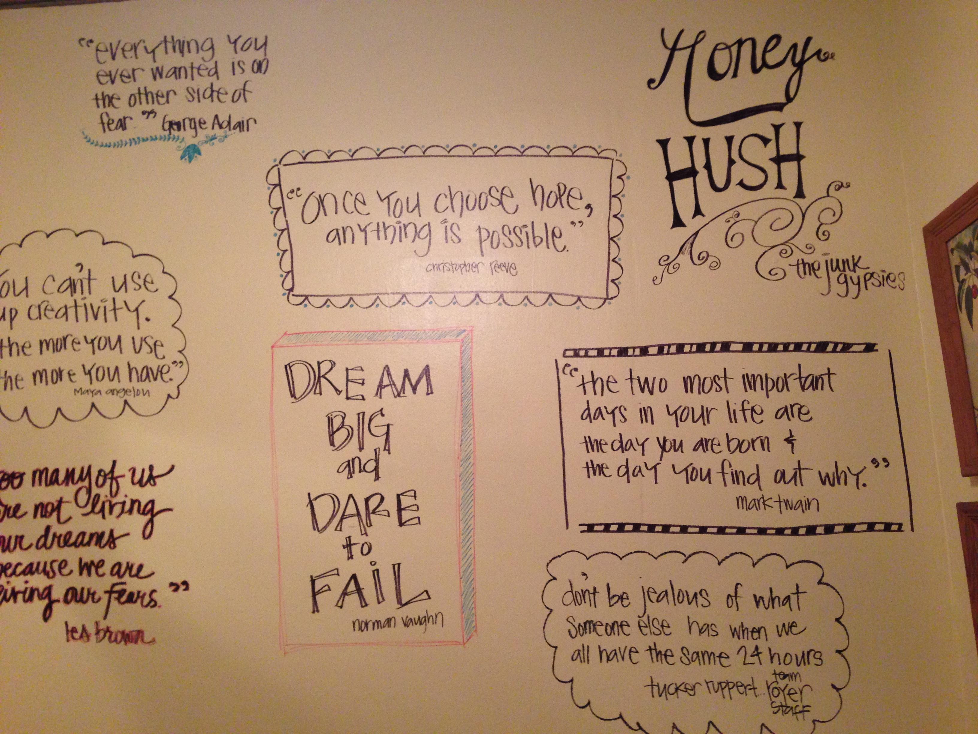 Bathroom wall writings - Img_0673