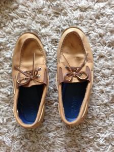 Benji's 2014-15 school shoes.